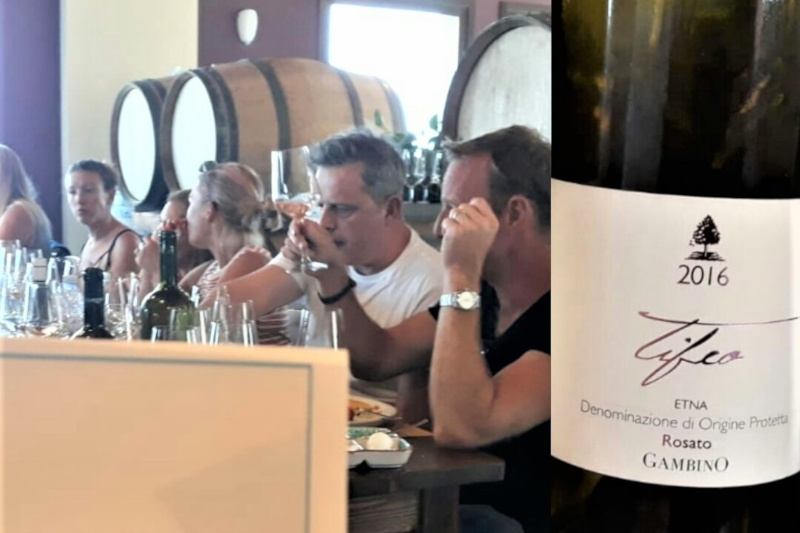 Etna and Sea wine tasting