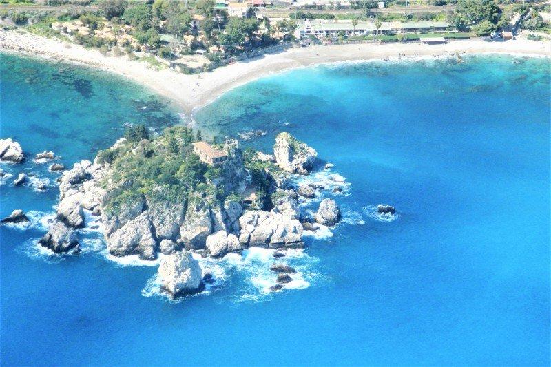 Sicilyspot flight on Etna - Taormina 35 min