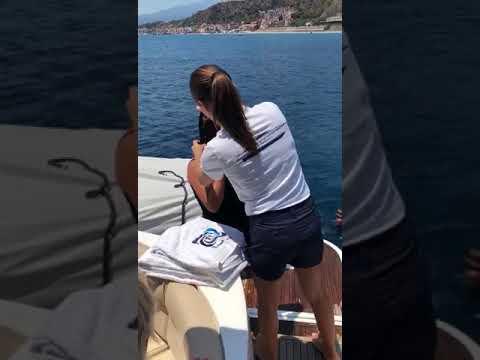 Sicilyspot - Frame of yacht day cruise at the bays of Taormina - Sicily IP 48