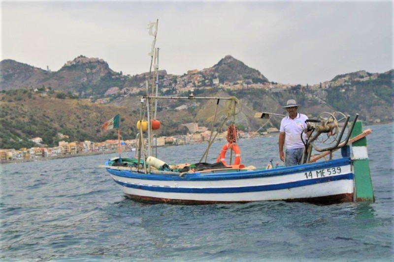Taormina - Local fishing boat