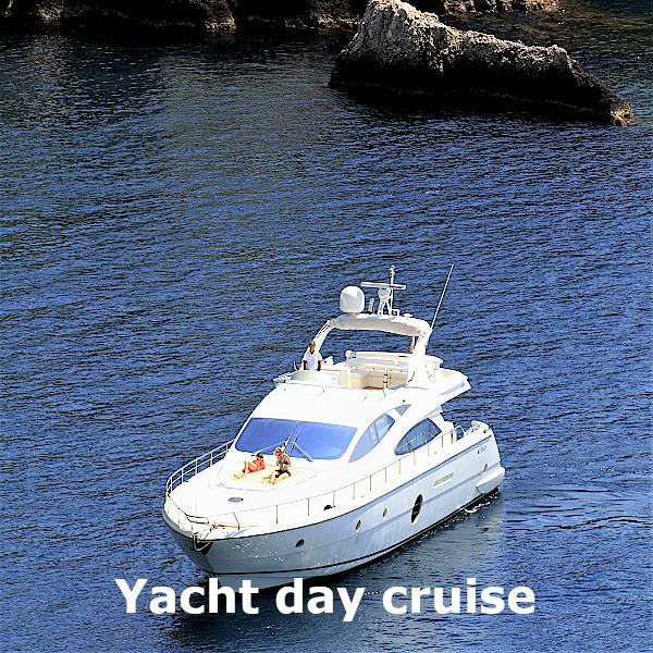 Sicily transfer and excursion - Yacht day cruise