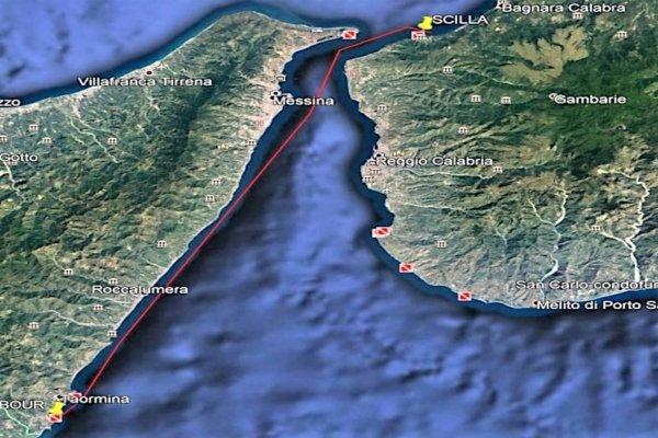 Taormina - Venezia - Route map