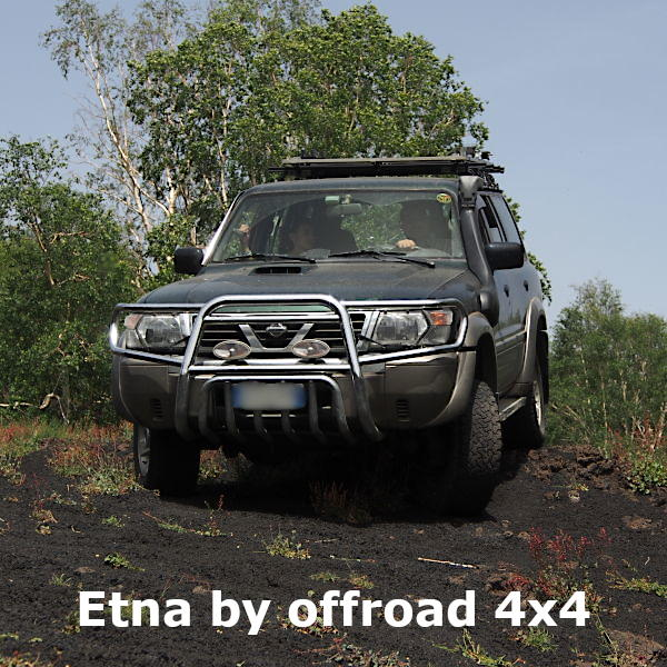 Sicily transfer and excursion - Etna by offroad 4x4