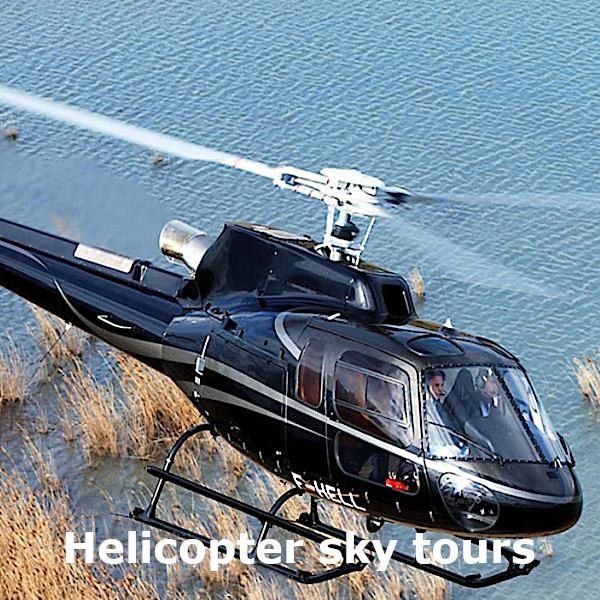 Sicily transfer and excursion - Helicopter sky tours