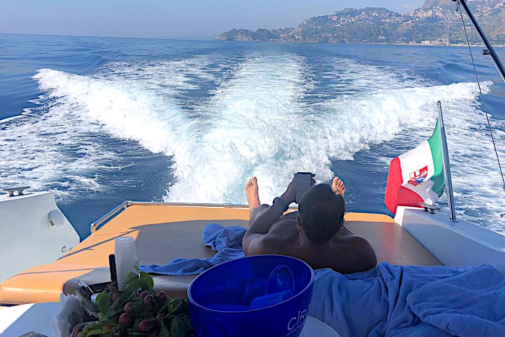 Tullio Abbate 46 cruising fun