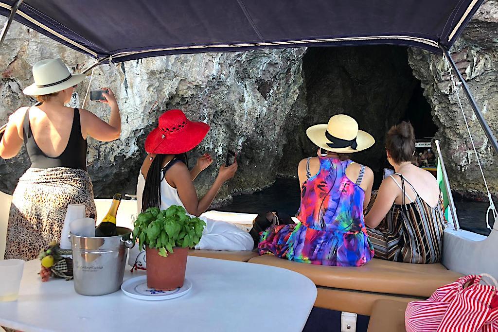 Tullio Abbate 46 at Grotta Azzura Isola Bella