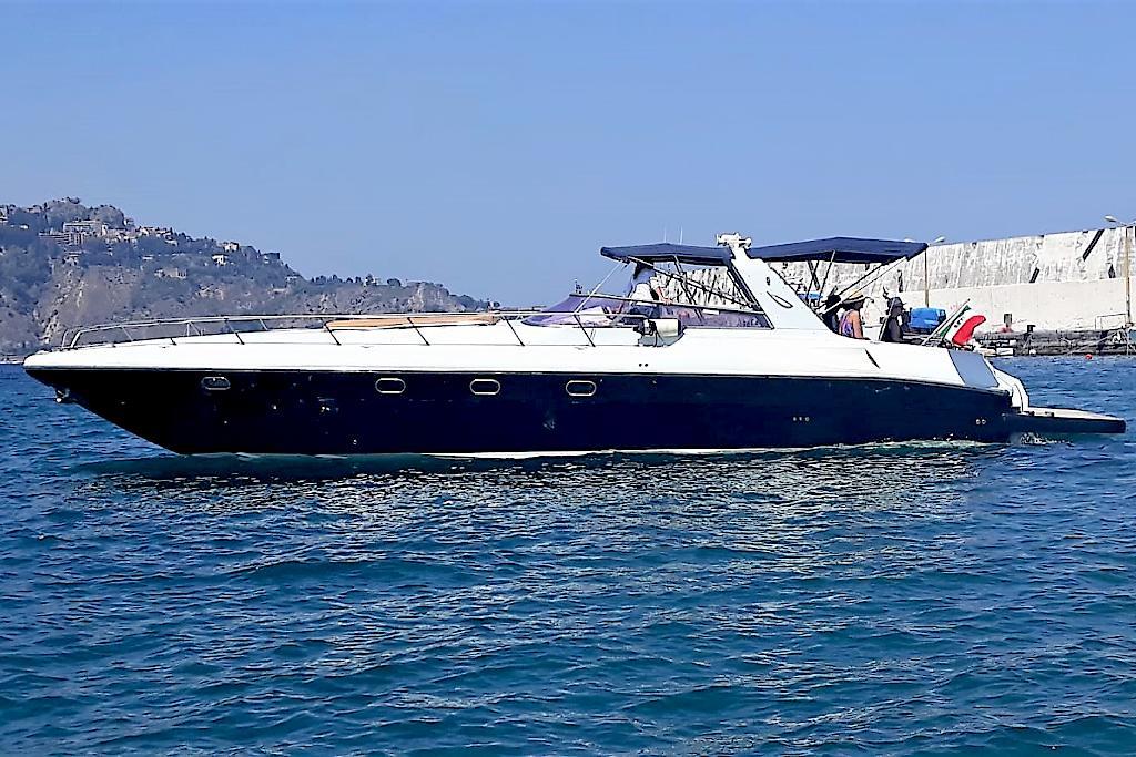 Tullio Abbate 46 at Taormina Bays